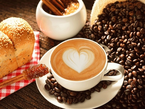 Алмазная Мозаика 40x50 Чашка ароматного кофе (арт. S2939 )