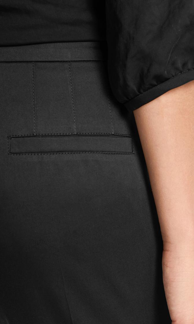 Marc Cain Классические брюки из полированного хлопка