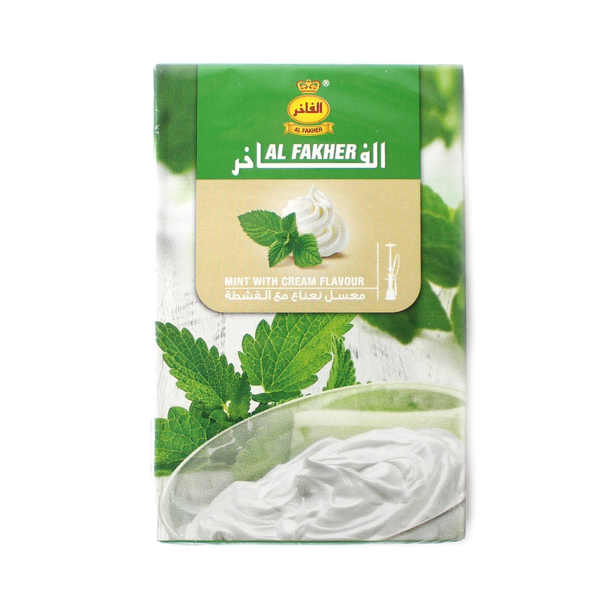 Табак для кальяна Al Fakher Mint with cream 50 гр
