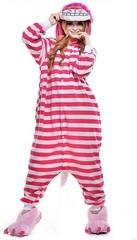 Алиса в стране чудес пижама кигуруми для взрослых Чеширский Кот