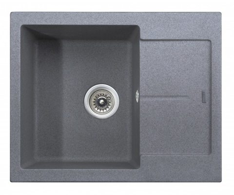 Кухонная гранитная мойка Kaiser KGMK-6250-G серый