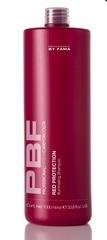 BY FAMA CARE FOR COLOR RED PROTECTION / Шампунь для волос для поддержки медных и красных тонов 1000мл