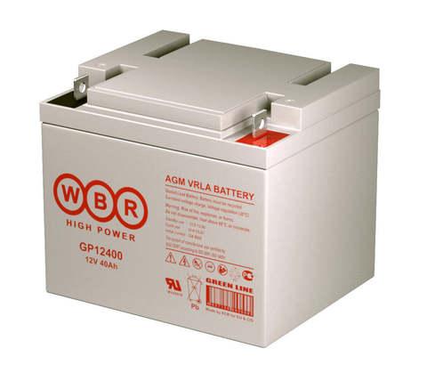 Аккумулятор WBR 12400  40А/ч