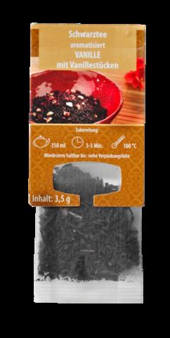 Ароматизированный черный чай Ваниль с кусочками ванили