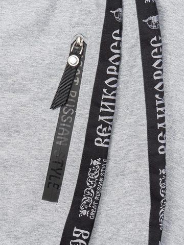 Спортивные штаны «Великоросс»  цвета серый меланж
