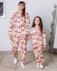 Пижама утепленная МИШКИ ТЕДДИ, коричневый