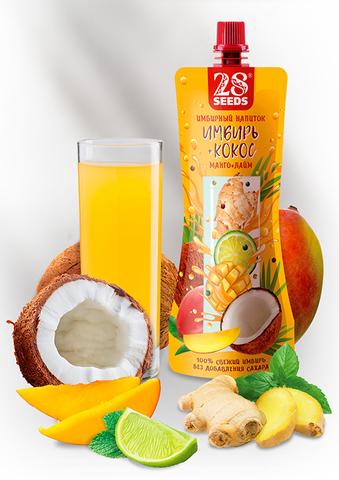 Имбирный напиток «Имбирь + Кокос» без сахара, 250 г
