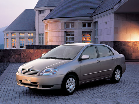 Тормозные колодки Kötl 3289KT для Toyota Corolla IX седан (_E12J_, _E12T_) 1.8, 2002-2004 года выпуска