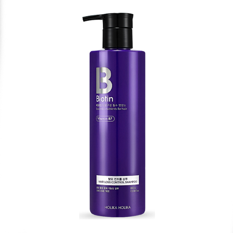 Holika Holika Biotin Hair Loss Control Shampoo Шампунь для волос, 390 мл