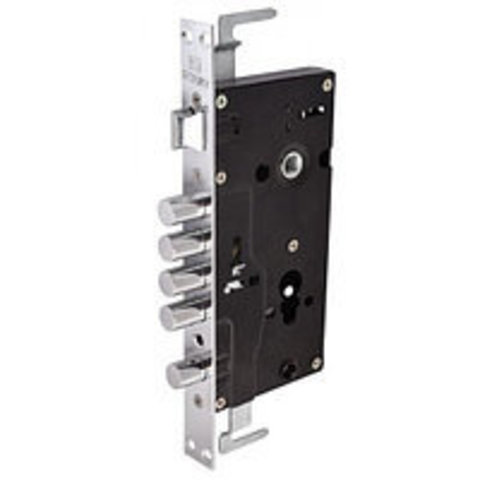 Купить замок врезной для китайских металлических дверей ЗАМКОФФ 674 б/ц (L/R)