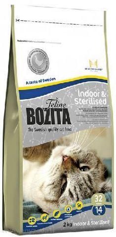30310 BOZITA Funktion Indoor&Sterilised сух.корм д/Домашних и стерилизованных кошек 400гр*5 НОВИНКА