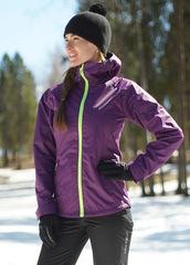 Ветрозащитная мембранная куртка Nordski Motion Purple женская