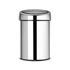 Мусорный бак Brabantia Touch Bin (3л), Полированная сталь
