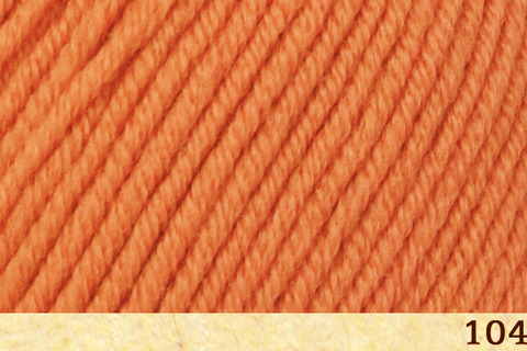 Пряжа Fibra Natura Dona 106-04 оранжевый