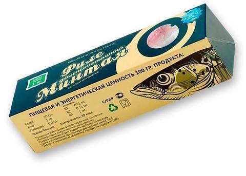 Минтай филе монолит по 1 кг(1/21)