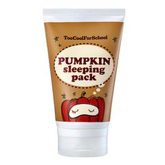 Too cool for school - Тыквенная маска Pumpkin Sleeping Pack, 100 ml