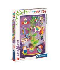 Puzzle PZL 104 GLITTER FAIRY TALES
