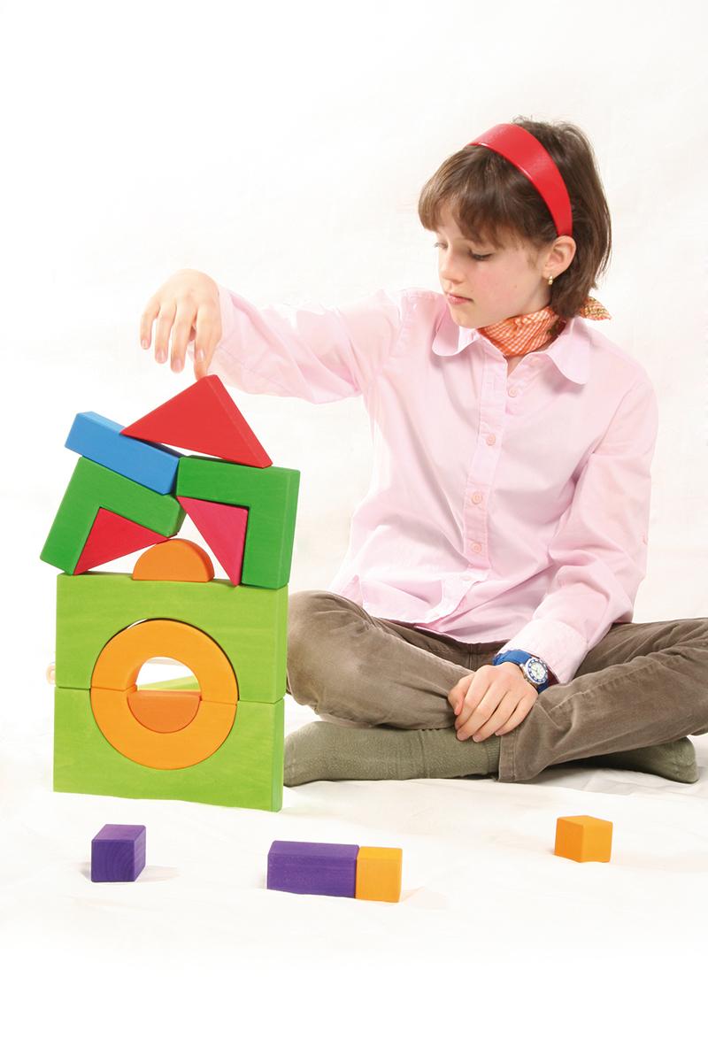 Базовый набор строительных кубиков