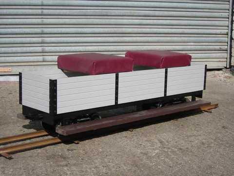 Garden Rail Полувагон на колею 12,7 см