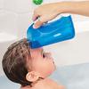Мягкий кувшин для мытья волос голубой
