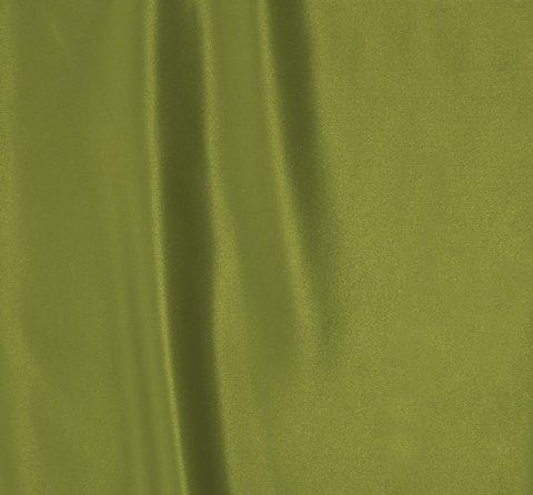 Однотонная портьерная ткань Эвита сатин зеленый