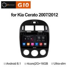 Штатная магнитола на Android 8.1 для KIA Cerato 2 07-12 Ownice G10 S1741E
