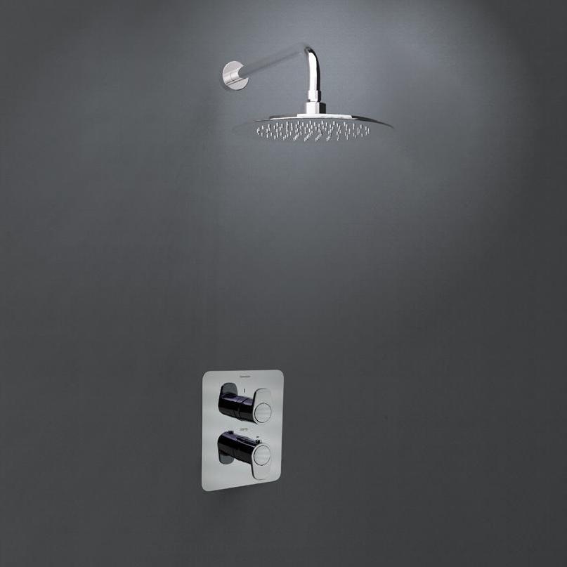 Встраиваемый термостатический смеситель для душа с душевым комплектом ALEXIA K3624012 на 1 выход