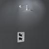 Встраиваемый термостатический смеситель для душа с душевым комплектом ALEXIA K3624012 на 1 выход - фото №1