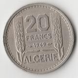 K9929 1949 Франция 20 франков ( Алжир )