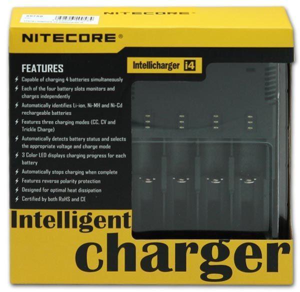 зарядное устройство NiteCore V2 intellicharge i4 отзывы