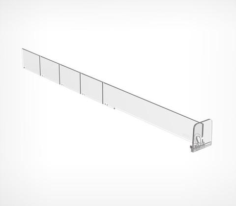 Пластиковый разделитель высотой 30 мм, L=385 мм DIV30-T35