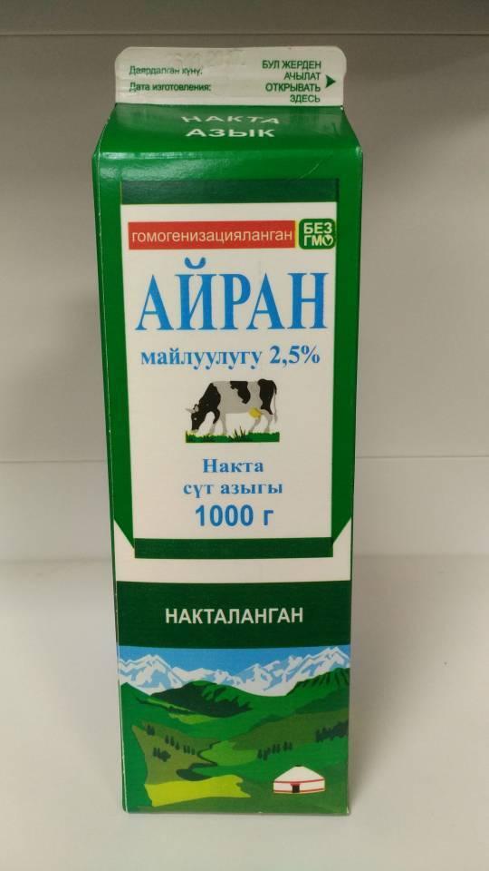 Кефир 1л т/п 2,5% (Киргизия)