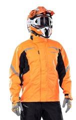 Куртка-дождевик Dragonfly EVO Orange - мембрана