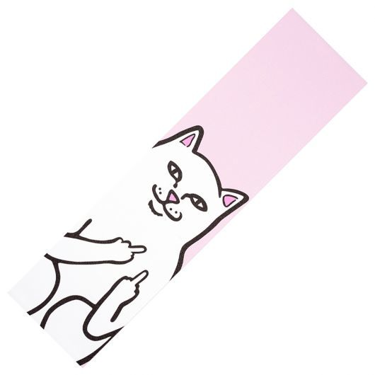 Шкурка для скейта RIPNDIP Lord Nermal (Pink)