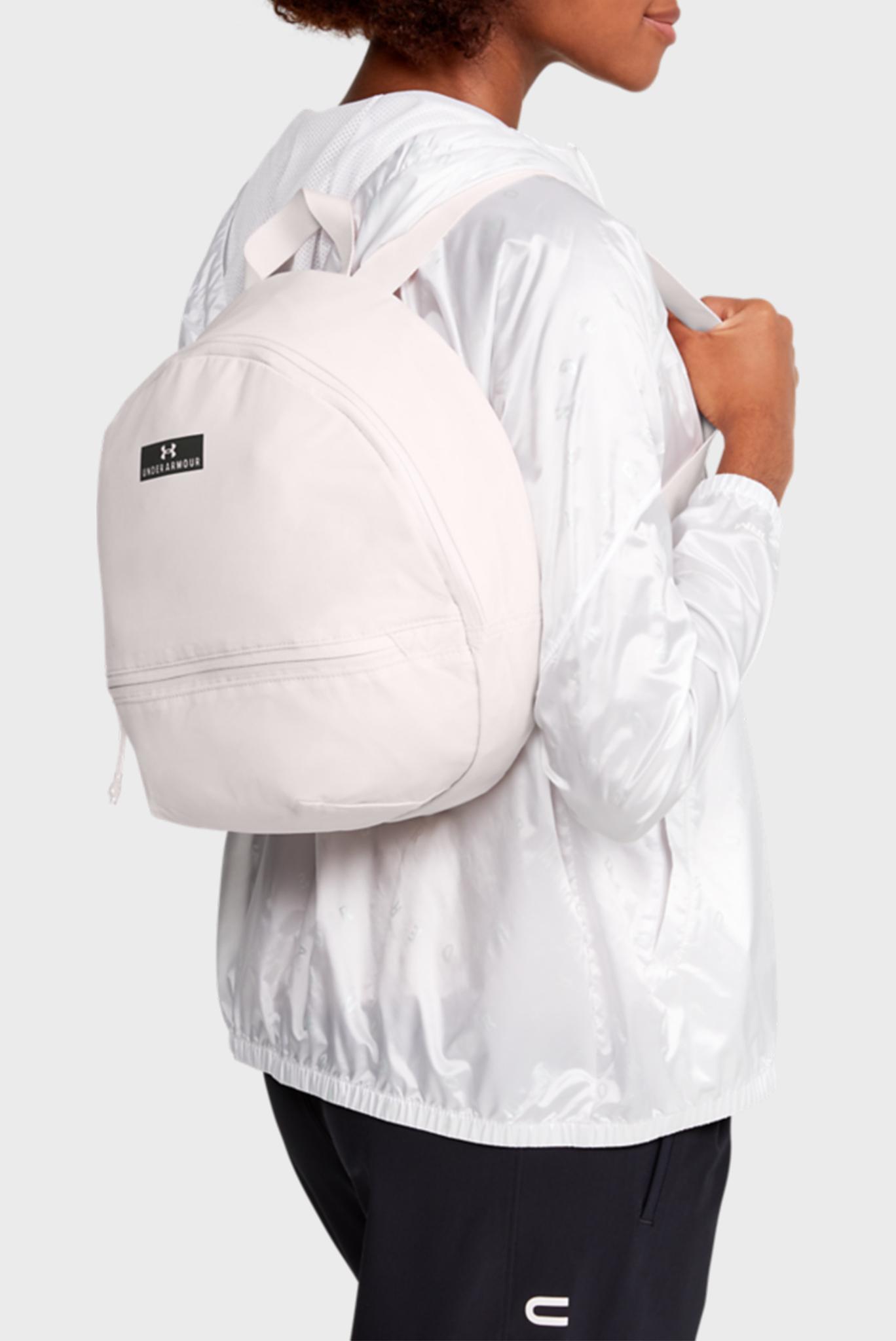 Женский розовй рюкзак UA Midi Backpack 2.0 Under Armour