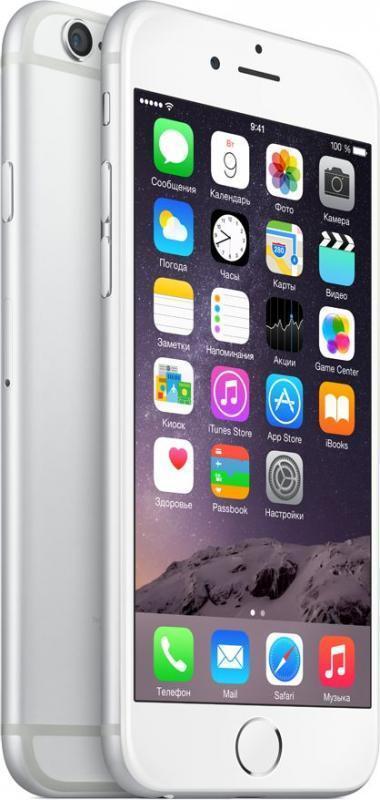 iPhone 6 Apple iPhone 6 64gb Silver silva1.jpg