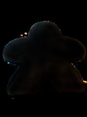 Подушка-миплушка (чёрная)