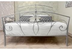 Кровать Вита (Vita 200x160) серебристая