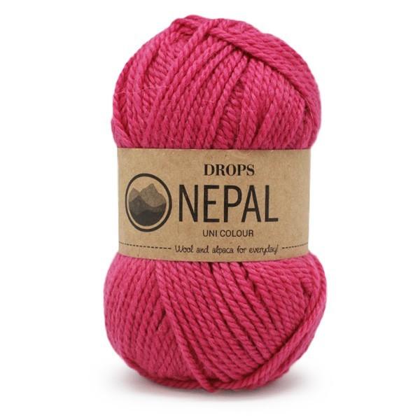 Пряжа Drops Nepal 6273 фуксия