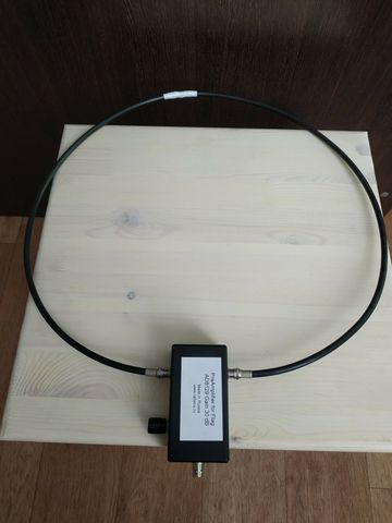 Amplifier AD8129 for Active Magnetic HF Antenna 1MHz-20MHz for Hula Loop