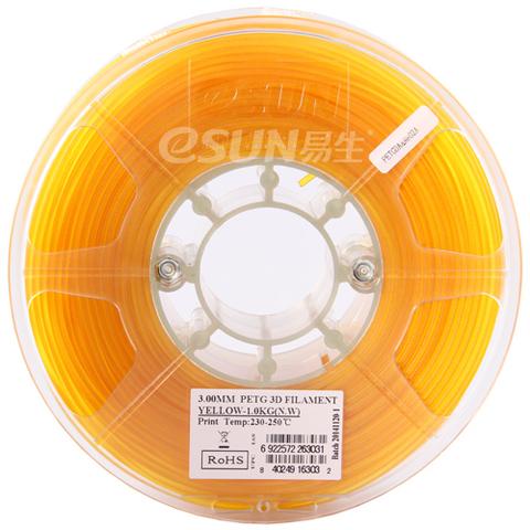 ESUN PETG 1.75 мм 1кг., желтый
