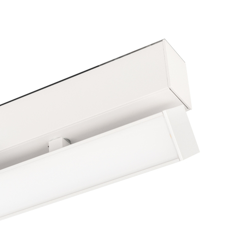 Светильник MAG-FLAT-FOLD-45-S1005-30W Warm3000 (WH, 100 deg, 24V) (ARL, IP20 Металл, 3 года)