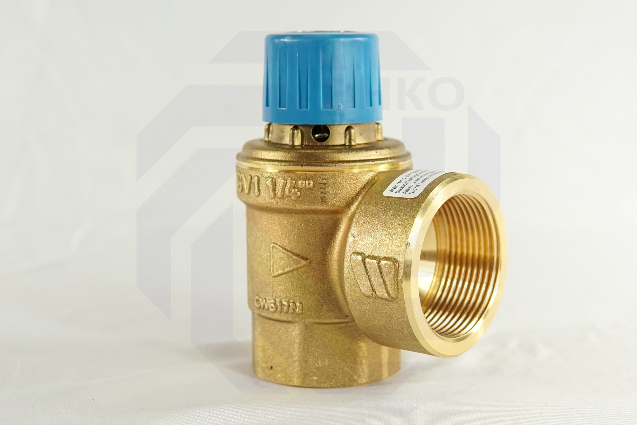 Клапан предохранительный WATTS SVW 4 бар 1¼