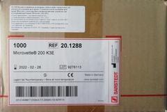 20.1288 Microvette (Микроветт СВ) 200 с ЭДТА-К3, розовая крышка, 100шт/уп /Sarstedt AG &Co., Германия/