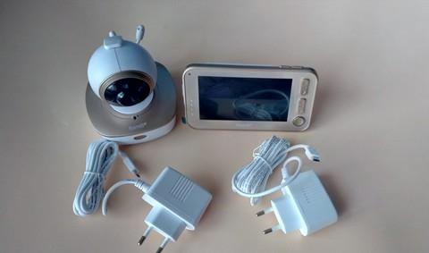 Видеоняня Ramili Baby RV1300 и адаптеры питания