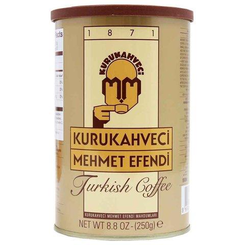 Турецкий кофе Mehmet Efendi натуральный молотый, 250 г