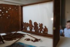 БОЛЬШОЙ СБОРНИК РУССКИХ НАРОДНЫХ СКАЗОК набор фигурок для театра теней