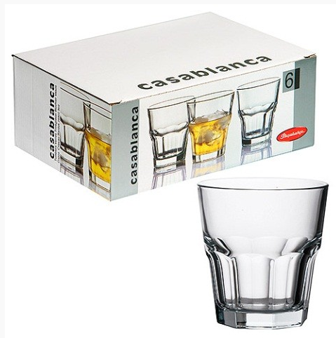 Стаканы для виски Pasabahce Casablanca 269ml  6 шт.  52705-6