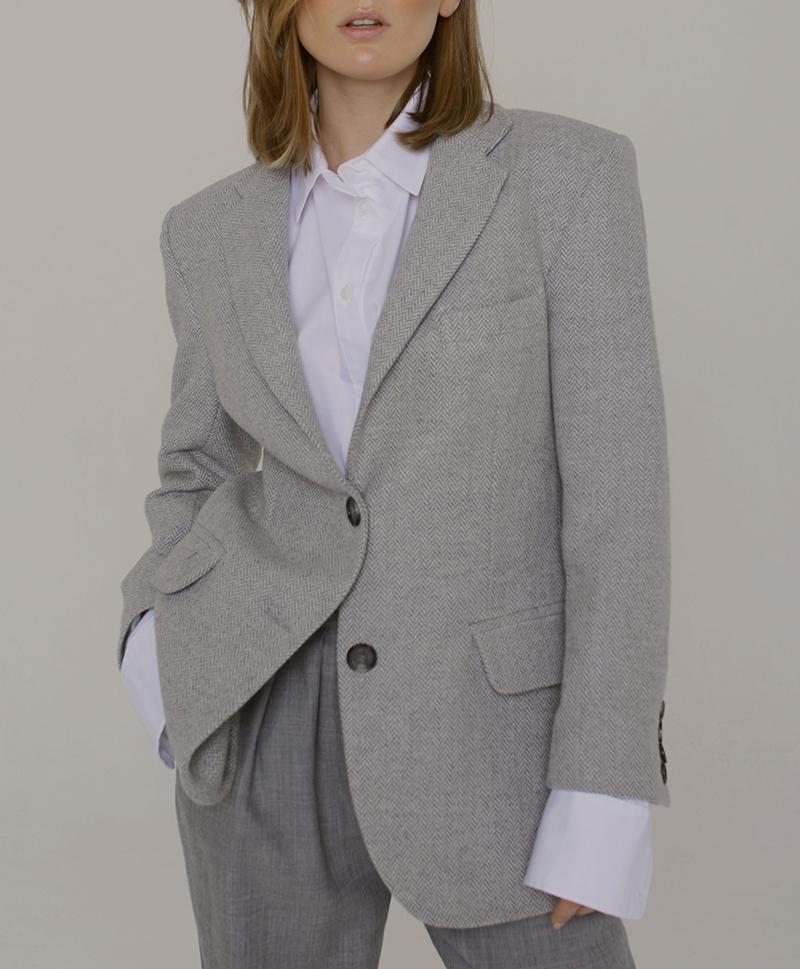 пиджак-серый