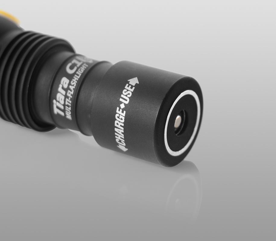 Мультифонарь Armytek Tiara C1 Magnet USB (тёплый свет) - фото 6